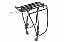 TOPEAK Super Tourist Tubular Rack DX Disc Mount Version, black багажник д/вел-в с диск. тормозами